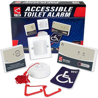 First Aid & Safety Equipment, Disabled Toilet Alarms, Disabled Toilet Alarm Kits - C-Tec NC951 Disabled Persons Toilet Alarm Kit