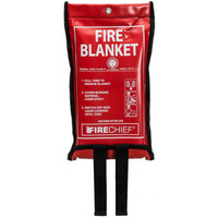 Fire Extinguishers & Blankets, Fire Blankets - Firechief Economy Soft Case Fire Blanket