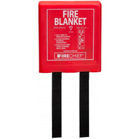 Fire Extinguishers & Blankets, Fire Blankets - Firechief Economy Rigid Case Fire Blanket