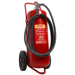 Firechief 50 or 100 Litre Wheeled Foam Extinguisher