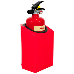 Firecaddy Flush or Corner Mounted Small Extinguisher Holder