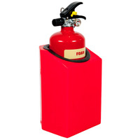 Fire Extinguishers & Blankets, Fire Extinguishers Stands & Cabinets - Firecaddy Flush or Corner Mounted Small Extinguisher Holder