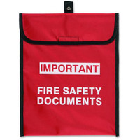 Fire Alarms, Fire Alarm Accessories, Document & Key Storage - Soft Pack Document Holder