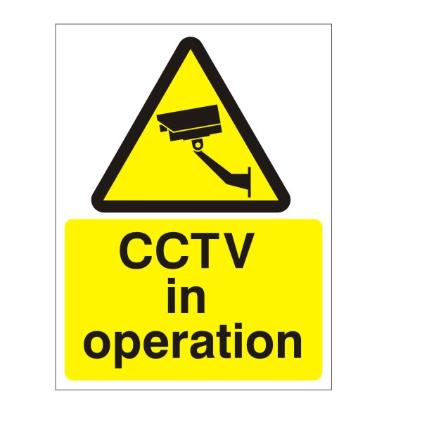Cctv In Operation Sign Discount Fire Supplies