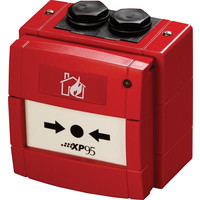 Fire Alarms, Fire Alarm Detectors,  Intrinsically Safe Detectors, Apollo XP95 IS Addressable Detectors - XP95 I.S. Manual Call Point