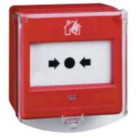Fire Alarms, Manual Call Points, Conventional Call Points - Menvier Surface Manual Callpoint C/W Backbox Optional Weatherproof