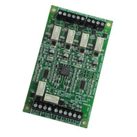 Fire Alarms, Fire Alarm Panels, Conventional Fire Panel Peripherals - Haes 4 Way Sounder Circuit Extension Card