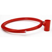 Fire Alarms, Fire Alarm Detectors, Aspirating Smoke Detection, Aspirating Pipe & Fittings, 25mm Aspirating Pipe & Fittings, Capillary Kits 25mm x 10mm - 25mm Red Capillary Kit with Discreet End Cap