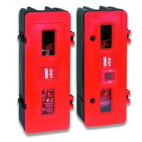 Fire Extinguishers & Blankets, Fire Extinguishers Stands & Cabinets - Fire Extinguisher Box with Lock