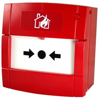 Fire Alarms, Manual Call Points, Conventional Call Points - C-TEC Surface Mounting No Break Fire Call Point
