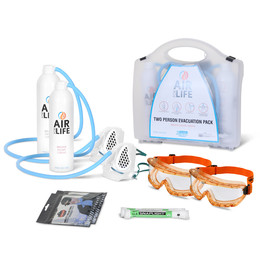 AirForLife Two Person Evacuation Kit