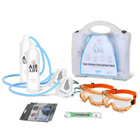 First Aid & Safety Equipment, Emergency Escape Devices - AirForLife Two Person Evacuation Kit