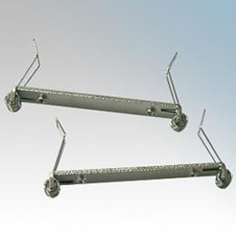 Meteor LED White Semi Recessing Kit