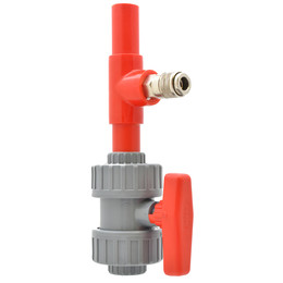 25mm ABS Quick Release Airline Adaptor & Valve Kit