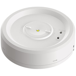 Azelio Surface LED Emergency Downlight With Both Open Area & Escape Route Lenses