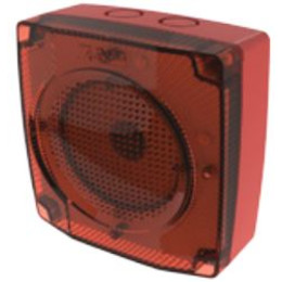 Speaker and LED flasher unit