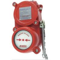 Fire Alarms, Fire Alarm Detectors,  Intrinsically Safe Detectors, Zeta IS Conventional Detectors  - Explosion Proof Manual Break Glass Unit