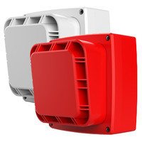 Fire Alarms, Wireless Fire Alarms, Wi-Fyre Wireless Fire Alarm System, Wi-Fyre Sounders & Flashers - Wi-Fyre Wireless Sounder in Red or White