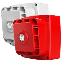 Fire Alarms, Wireless Fire Alarms, Wi-Fyre Wireless Fire Alarm System, Wi-Fyre Sounders & Flashers - Wi-Fyre Wireless Sounder/Flasher in Red or White