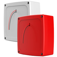 Fire Alarms, Wireless Fire Alarms, Wi-Fyre Wireless Fire Alarm System, Wi-Fyre Sounders & Flashers - Wi-Fyre Wireless Sounder Platform in Red or White