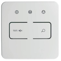 Fire Alarms, Domestic Smoke, Heat & CO Alarms, FireAngel Mains Powered Alarms With 10 Year Lithium Batteries & Optional Wireless Link - Wireless Test-Silence-Locate Control Unit - Smart RF