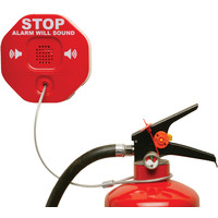 Fire Extinguishers & Blankets, Fire Extinguisher Protection, Fire Extinguisher Alarms - STI 6200 Fire Extinguisher Theft Stopper