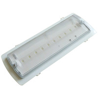 Emergency Lighting, Emergency Bulkhead Lights - Semi Flushing Bezel for Meteor Maxi LED Bulkhead