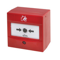 Fire Alarms, Manual Call Points, Addressable Call Points, Apollo XP95 Manual Call Points - Apollo Intelligent Manual Call Point (Red)