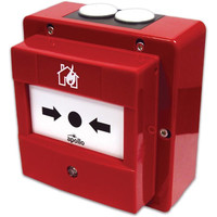 Fire Alarms, Manual Call Points, Addressable Call Points, Apollo XP95 Manual Call Points - Apollo Waterproof Addressable Manual Call Point