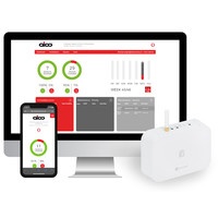 Fire Alarms, Domestic Smoke, Heat & CO Alarms, Aico 3000 Series, Mains Powered, 10 Year Lithium Batteries with Optional Wireless Interlink - Aico Ei1000G SmartLINK Gateway