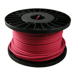 Red 2 Core Fire Resistant Cable (1.0mm, 1.5mm or 2.5mm)