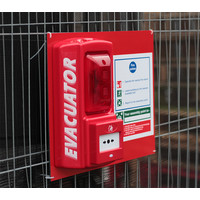 Fire Alarms, Standalone Fire Alarms, Self Contained Alarms - Evacuator Mounting Board With Fire Action Notice