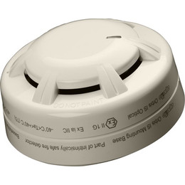 Orbis Intrinsically Safe (IS) Optical Smoke Detector with Optional Flashing LED