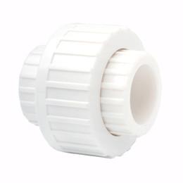 Plain White ABS 25mm Union