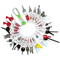 Fire Alarms, Fire Alarm Accessories, Fire Alarm Equipment Keys - Fire Alarm & Emergency Lighting Engineers Keyring Set