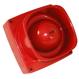 Maxitone Fire Alarm Electronic Sounder Red or White