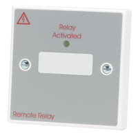Fire Alarms, Fire Alarm Accessories, Fire Alarm Relays - C-Tec Relay on a Plate 24v 5A (single gang)
