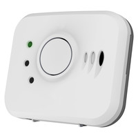 Fire Alarms, Domestic Smoke, Heat & CO Alarms, FireAngel Mains Powered Alarms With 10 Year Lithium Batteries & Optional Wireless Link - FireAngel 10 Year Carbon Monoxide Alarm - Smart RF Ready