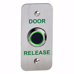 NT200-NF Narrow Style No Touch Access Control Exit Button