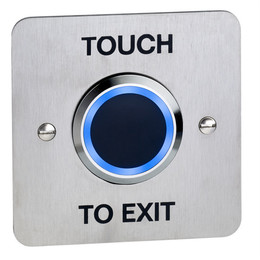 NT200-BLUE Touchless Access Control Exit Button