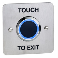 Security Equipment, Door Access Control - NT200-BLUE Touchless Access Control Exit Button