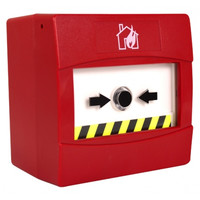 Fire Alarms, Domestic Smoke, Heat & CO Alarms, C-Tec Hush ActiV Grade C Domestic Fire Alarm System, Hush ActiV Standalone Domestic System, Hush ActiV Manual Call Point - C-Tec ActiV Surface Manual Call Point