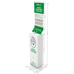 Medichief Floor Standing Hand Sanitiser Station