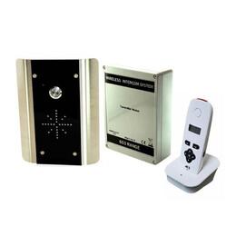 AES - 1 Call Button Wireless Intercom Kit - Keypad Optional