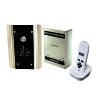 Security Equipment, Gate Intercom Systems, DECT Wireless Intercom, DECT 603 Single Button Systems - AES - 1 Call Button Wireless Intercom Kit - Keypad Optional