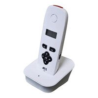 Security Equipment, Gate Intercom Systems, DECT Wireless Intercom, DECT 603 Single Button Systems - AES 603 Extra Handset With Black Keys