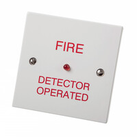 Fire Alarms, Fire Alarm Accessories, Remote LED Indicators - Cranford Controls Remote Indicator With Optional Back Box