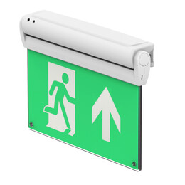 5-in-1 LED Exit Sign with Optional Test Remote Control
