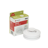 Fire Alarms, Domestic Smoke, Heat & CO Alarms, Mains Powered, Interlinkable Smoke, Heat & CO Alarms, Aico, Aico 600 Series Sealed Lithium Battery With Option Wireless Interlink - Aico Ei603RF RadioLINK+ Battery Heat Alarm