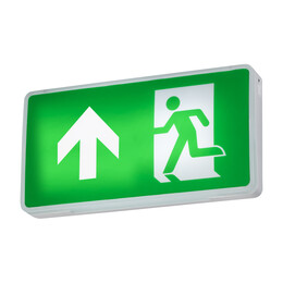 EMRNST 4W LED Emergency Exit Sign with Self-Test
